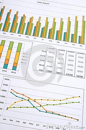 Free Sales Report Stock Photos - 5833683