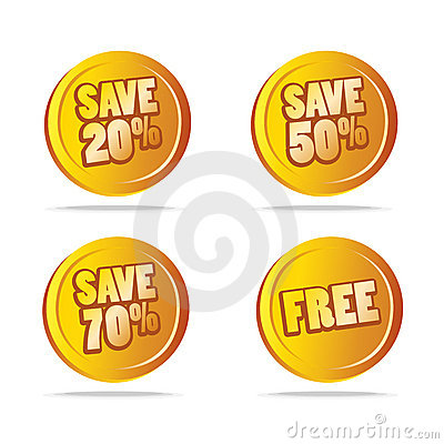 Sales save tags as icons