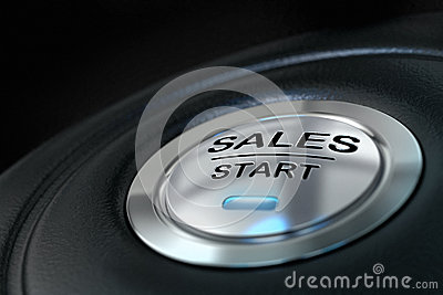 Sales start button