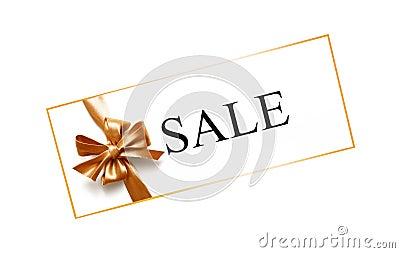 Sales tag