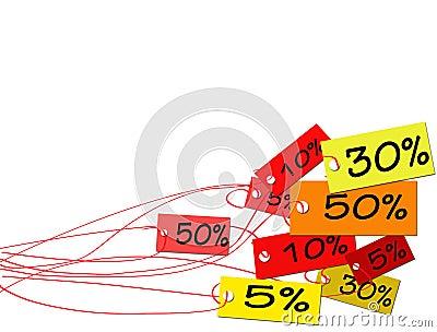 Sales tags