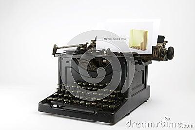 Sales Typewriter