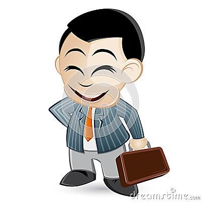 Salesman illustration