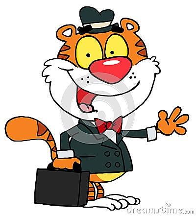 Salesman tiger