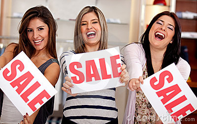 Saleswomen on sale