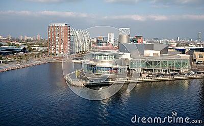 Salford Quays Development, Manchester England