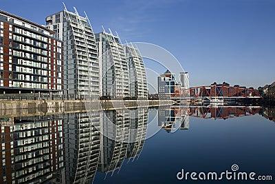Salford Quays - Manchester - England