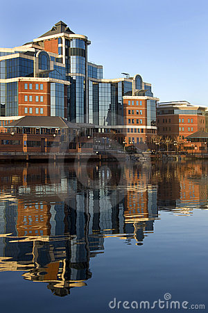 Salford Quays - Manchester - United Kingdom Editorial Stock Image