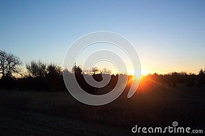Salida del sol de Nebraska