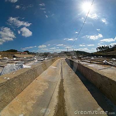 Saline exploration in Rio Maior - Portugal