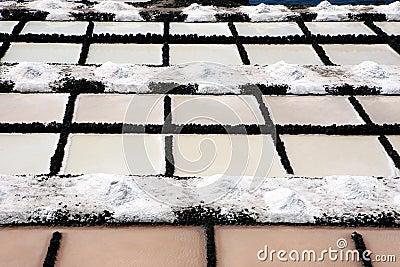 Saline pools