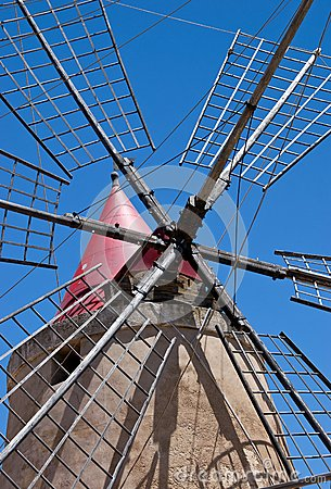 Saline trapani mill
