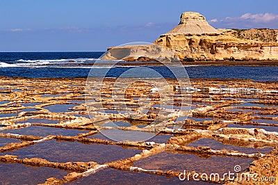 Salinetworks Xwejni bay , Gozo Island
