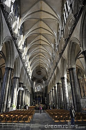 Salisbury Cathedral Editorial Photo