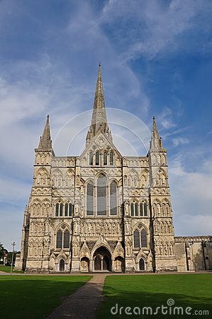Salisbury Cathedral Front view