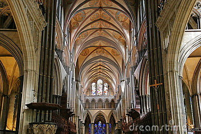 Salisbury Cathedral Interior