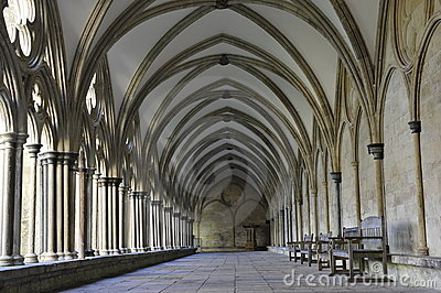 Salisbury Cathedrals Cloister