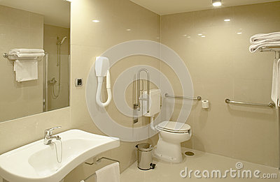 Salle de bains la chambre d 39 h pital moderne images - Salle de bain hopital ...