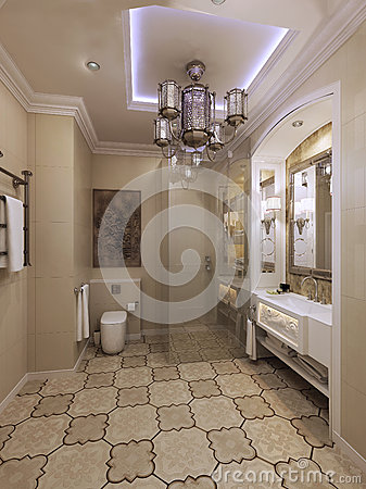 Awesome Best Salle De Bain Orientale Design Style Oriental De Salle Bains  Stock Image With Salle De Bain Style Oriental With Salle De Bain Orientale  With ...