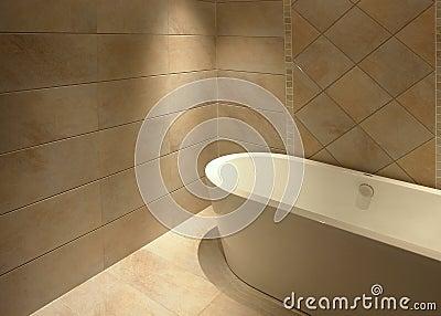 Salle de bains simple
