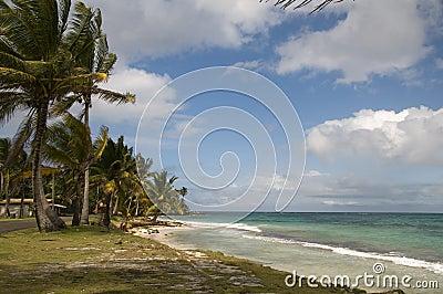 Sallie peachie beach corn island nicaragua