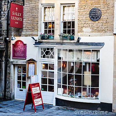 Sally Lunn s Editorial Stock Image