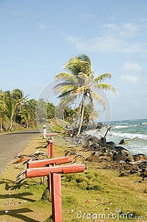 Sally Peaches beach Sally Peachie Big Corn Island Nicaragua