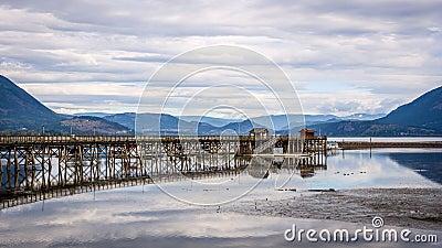 Salmon Arm wharf