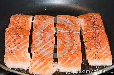 Salmon fillet/tenderloin