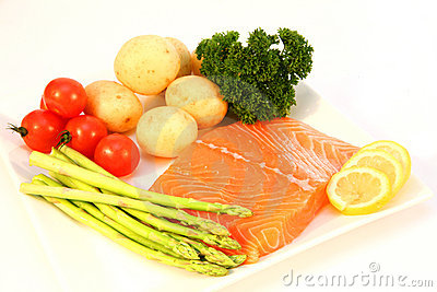 Salmon fillet ingredients