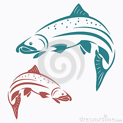 Free Salmon Fish Stock Photography - 27351802