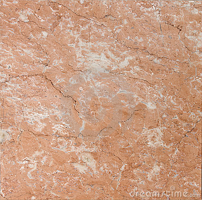 Salmon red textured marble
