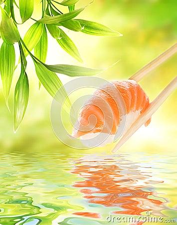 Free Salmon Sashimi Stock Photo - 7233700