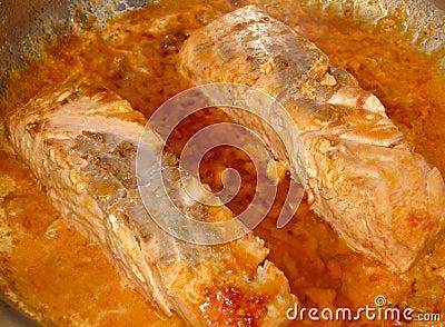 Salmoni cucinati