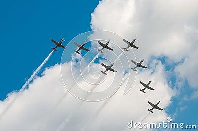 Salon de l aéronautique 2013, Radom le 30 août 2013 Photographie éditorial