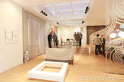 Salone del Mobile 2012 Editorial Stock Photo