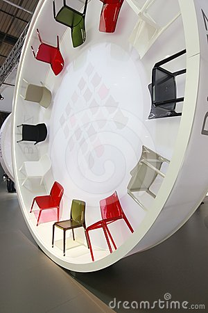 Salone del Mobile 2012 Editorial Photo