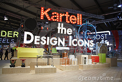 Salone del Mobile, Milan, furniture fair Editorial Stock Photo