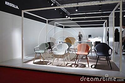 Salone del Mobile, Milan, furniture fair 2011 Editorial Photo
