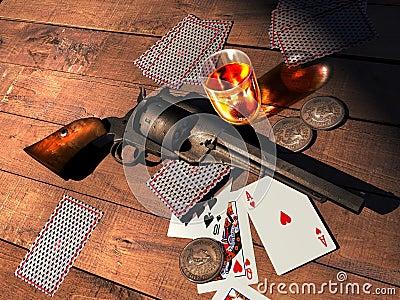 Revolver On Table 8666 | NOTEFOLIO