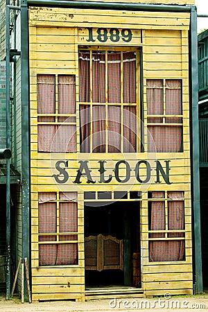 Saloon in Wild West