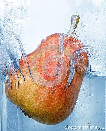 Salpicar la pera
