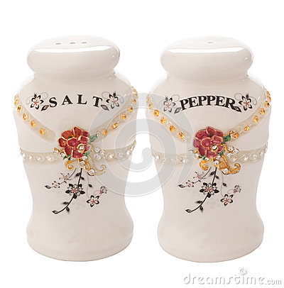 Free Salt And Pepper Shakers Royalty Free Stock Photography - 30720217