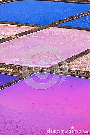 Free Salt Basins In Salino De Janubio, Lanzarote Royalty Free Stock Photo - 33865225