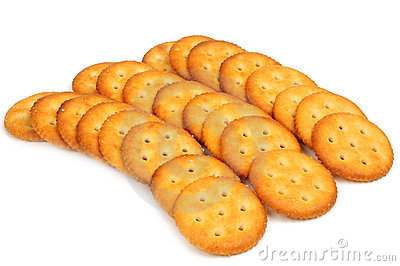 Salt Biscuit Stock Photography - Image: 23004262
