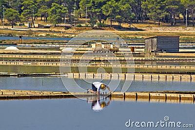 Salt evaporation ponds production plant in nin editorial for Design of evaporation pond