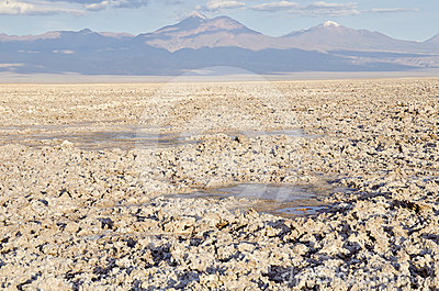 Salt Flat in Atacama Desert #2