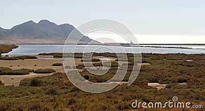 Salt Flats (Las Salinas) near Cabo De Gata