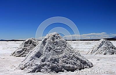 Salt flats, Uyuni, Bolivia.