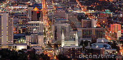 Salt Lake City de stad in